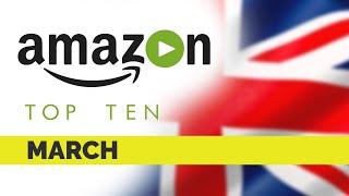 Top Ten movies on Amazon Prime UK | March 2020 | Best movie on Amazon Prime | Amazon Originals