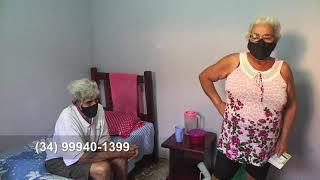 Esposa de idoso de mais de 70 anos pede ajuda da população para que o senhor consiga um atendimento médico e apoio para os cuidados com ele.