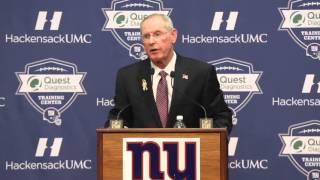 Tom Coughlin to Eli Manning: Eli, it