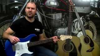 Видео YAMAHA PACIFICA 012DBM DARK BLUE- электрогитара