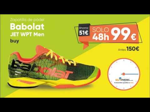 BLACK FRIDAY - Zapatillas de pádel Babolat Jet WPT - BuyPadel
