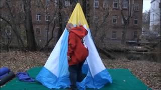 Зимняя палатка для рыбалки стэк 4
