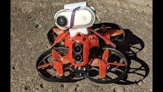 Insta 360 Go FPV mode on Cinecan mini drone at Playground
