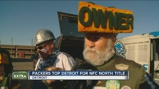 Packers Fans Invade Detroit on New Year