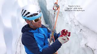 How to Rappel Into and Ascend Out of a Crevasse