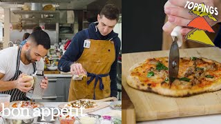 Chris and Andy Try to Make the Perfect Pizza Toppings | Making Perfect: Episode 4 | Bon Appétit
