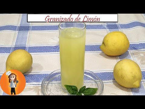 Granizado de limon autentico