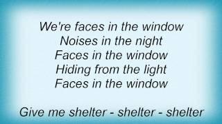 Dio - Faces In The Window Lyrics