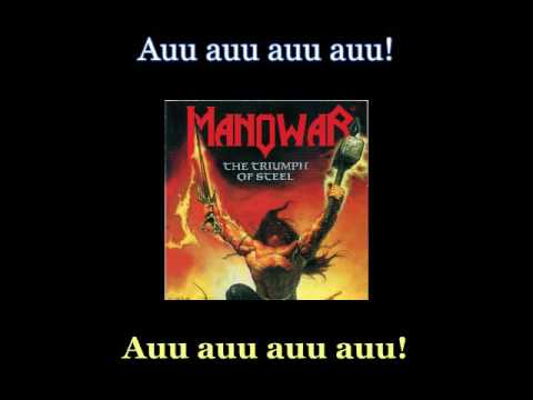 Manowar - Spirit Horse Of The Cherokee - Lyrics / Subtitulos en español (Nwobhm) Traducida