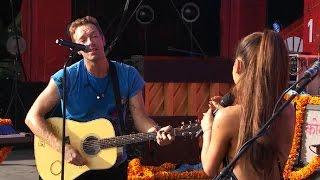 Ariana Grande & Coldplay - Just a Little Bit of Your Heart (Global Citzen 2015)