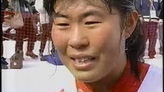 1998年長野パラリンピックバイアスロン小林深雪ブラインドクラス
