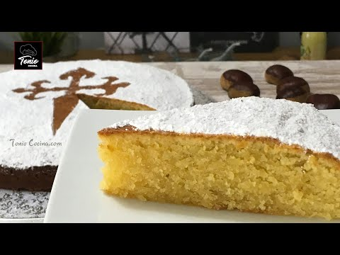 Tarta De Santiago o de Almendras  | Receta original sin gluten