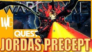 JORDAS PRECEPT QUEST [Jordas Golem - Atlas blueprint   Update 17.5]