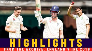 Ireland skittled for 38 & Leach hits 92! | Classic Match | England v Ireland 2019 | Lord's