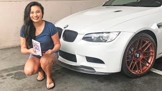 How to Install a Removable Front License Plate Bracket – Sto N Sho on BMW M3 – no front bumper holes