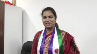 Chikaluripeta YSRCP MLA Vidadala Rajini On Party Winning In Elections - 25th May 2019