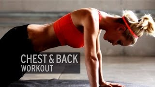 Chest and Back Workout by XHIT Daily