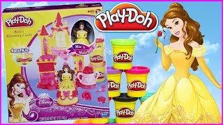Play Doh Disney Princess 👸 Zamek księżniczki Belli 🏰 Piękna i Bestia 👹 DIY