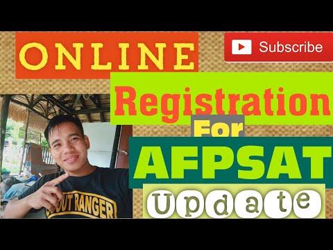 AFPSAT Exam Registration for online 21Jul20
