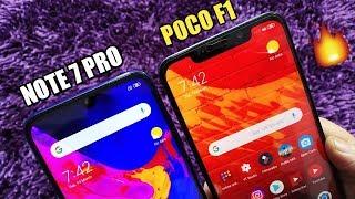 Redmi Note 7 Pro Vs Poco F1 Full Comparison - Kaunsa Lena Chahiye? [Hindi]