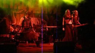 Battlelore - Khazad-dum pt.1 (Ages of Mithril) (live at Metal Crowd Fest 2011, Rechitsa, 13.08.11)