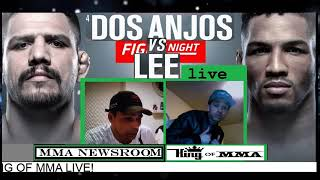 UFC FIGHT NIGHT ROCHESTER R DOS ANJOS VS KEVIN LEE