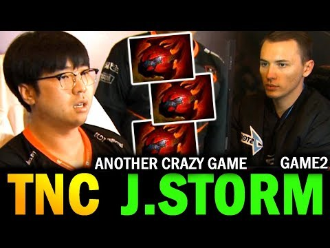 Another CRAZY GAME!! (Game 2) TNC vs J.STORM MDL Major Dota 2