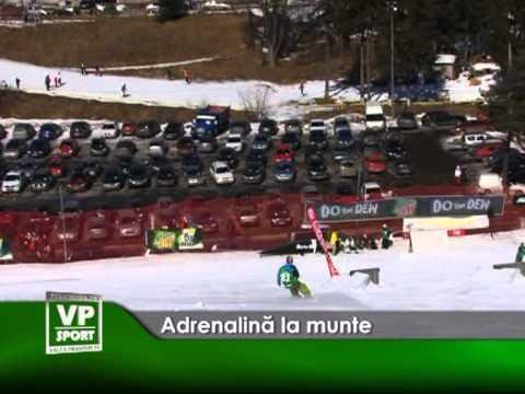 Adrenalină la munte