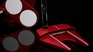 Odyssey O-Works Red #1 Wide S Putter w/ Superstroke Grip-video