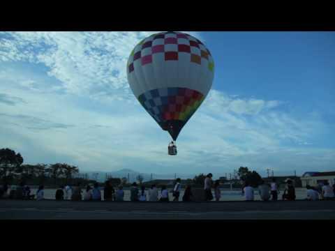 益城町に気球を飛ばそうプロジェクト @広安西小学校 行列編