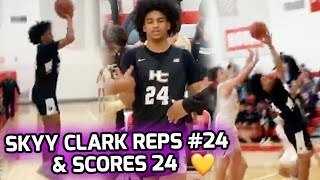 Skyy Clark Changes Jersey To #24 & Scores 24 To Honor Kobe💛💜Reaches 1000 Career Points As Sophomore!