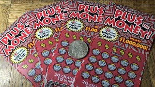 A 3rd Win Would Have Been Great!!! PLUS THE MONEY California Lottery Scratcher Tickets