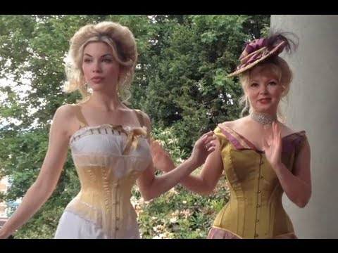 Edwardian/Victorian Lingerie & Corset Historical Dressing Sequence - The Lingerie Addict
