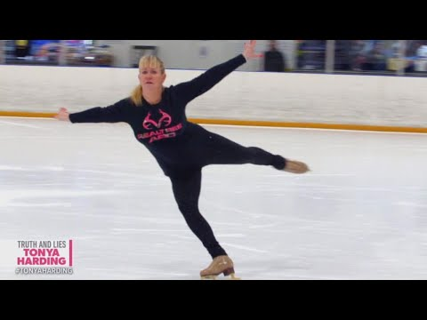 Tonya Harding Gets Back in the Ice Skating Rink Following National Attention