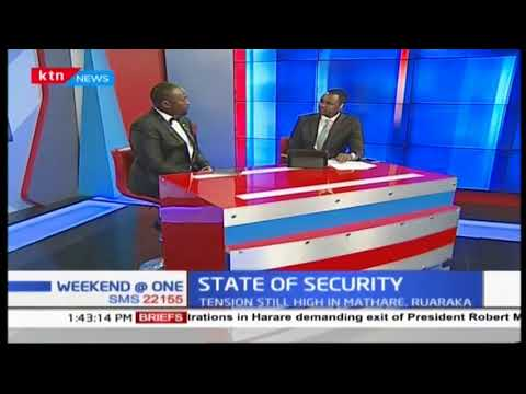 Is Kenya headed for a security crisis as riots break out in Mathare: Security Analyst-Dennis Nthumbi