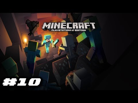 Minecraft PS4 2019 Gameplay - GOLDEN SWORD TIME