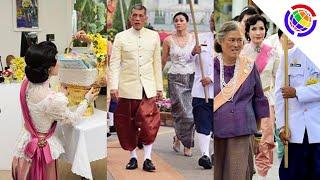 ย้อนชมพระราชินี ในงานอุ่นไอรัก และเจ้าคุณพระสินีนาฏกับทรงผมลอนเปียกย้อนยุคไทยโบราณ
