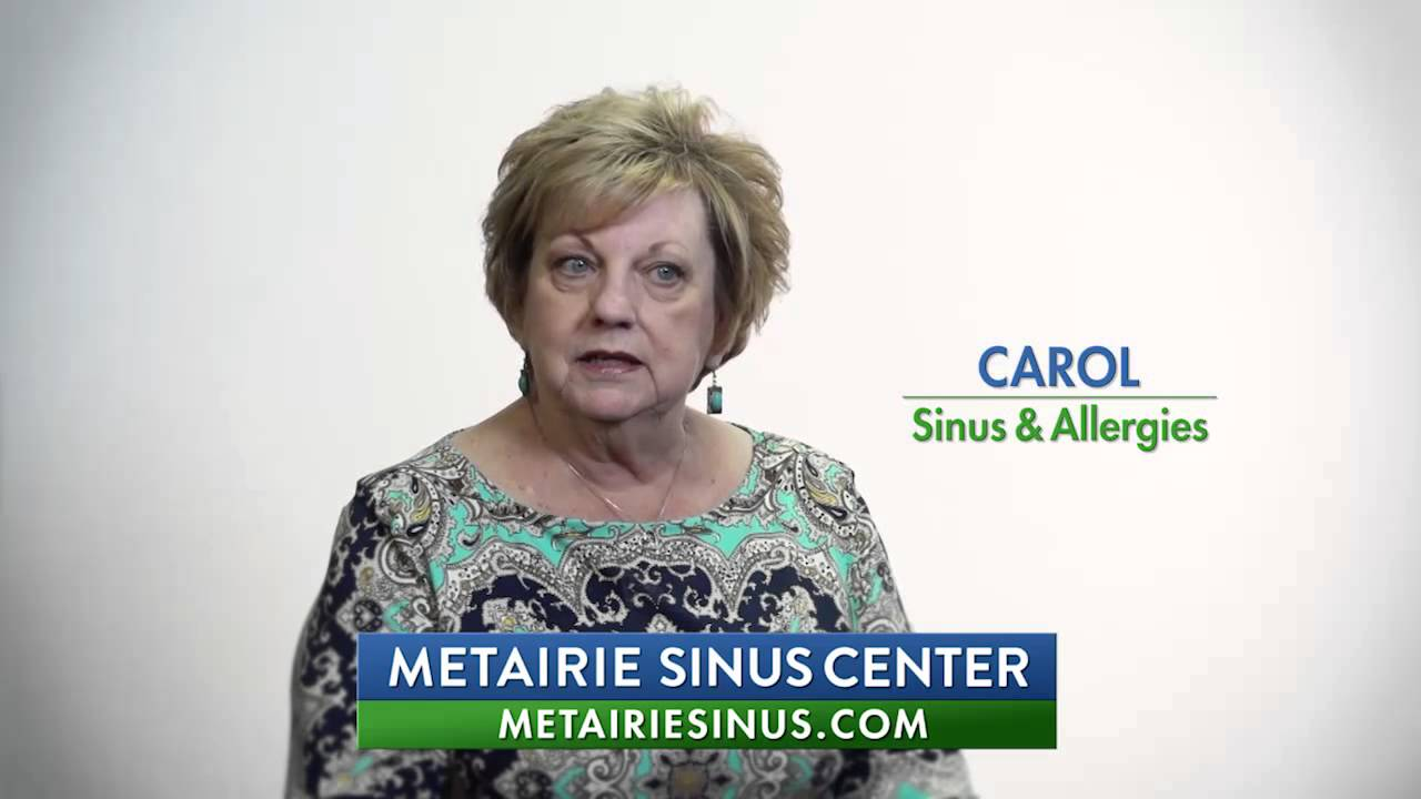 Carol - Allergy & Sinus Patient