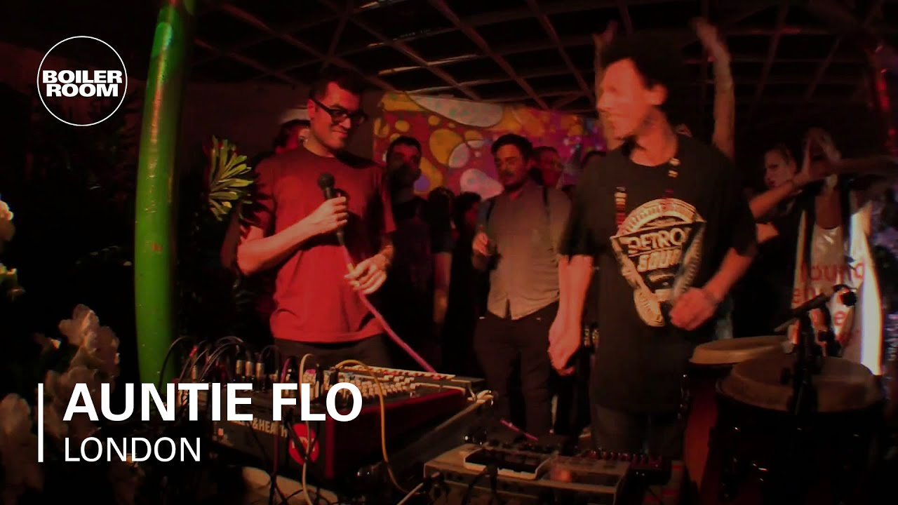 Auntie Flo - Live @ Boiler Room London 2014