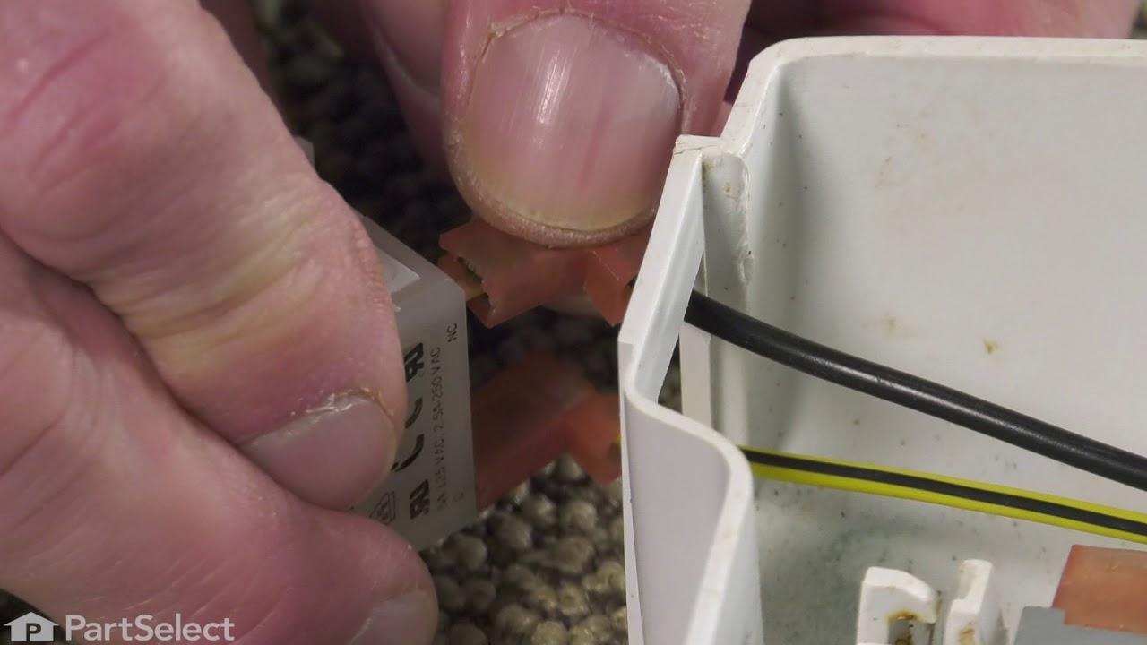 Replacing your Frigidaire Refrigerator Door Light Switch