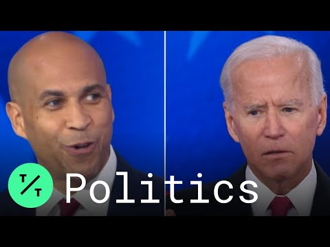 Biden Touts Support from Only Black Woman Senator, Forgets Harris Onstage at 5th Democratic Debate