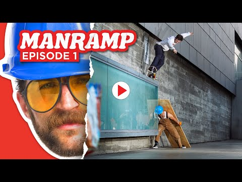 "This ""Man Ramp"" video from Thrasher is awesome"