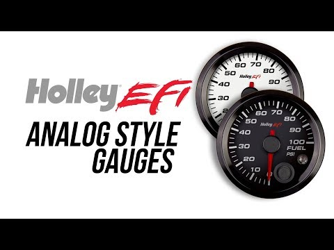 Holley EFI Analog Style Gauges