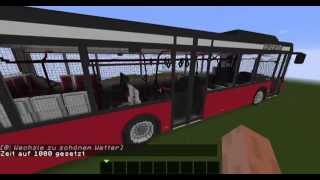 Minecraft Bus V Project Megabau Most Popular Videos - Minecraft bus spiele