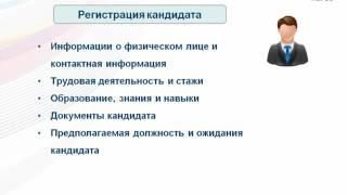 «Управление персоналом и штатное расписание»