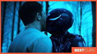 Eddie Brock and She Venom - Kiss Scene   VENOM (2018) Movie CLIP 4K