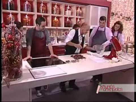 Κουραμπιέδες με σοκολάτα από τον Στέλιο Παρλιάρο