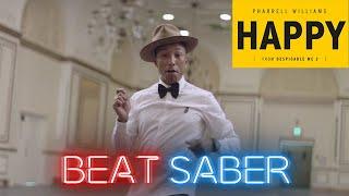 Happy - Pharrell Williams by FireStrike   Beat Saber [Expert+] FC