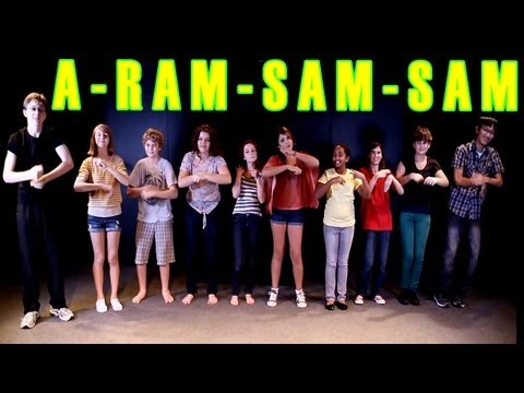 Download A Ram Sam Sam Dance - Children's Song - Kids Songs By The Learning Station HD Mp4 3GP Video and MP3