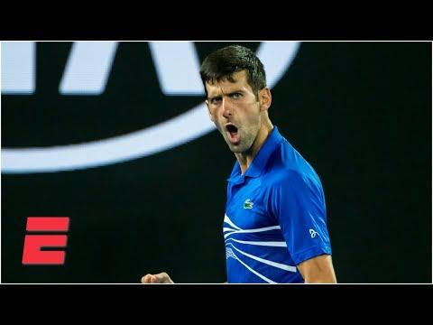 Novak Djokovic advances to face Rafael Nadal in 2019 Aussie Open Final | Australian Open Highlights
